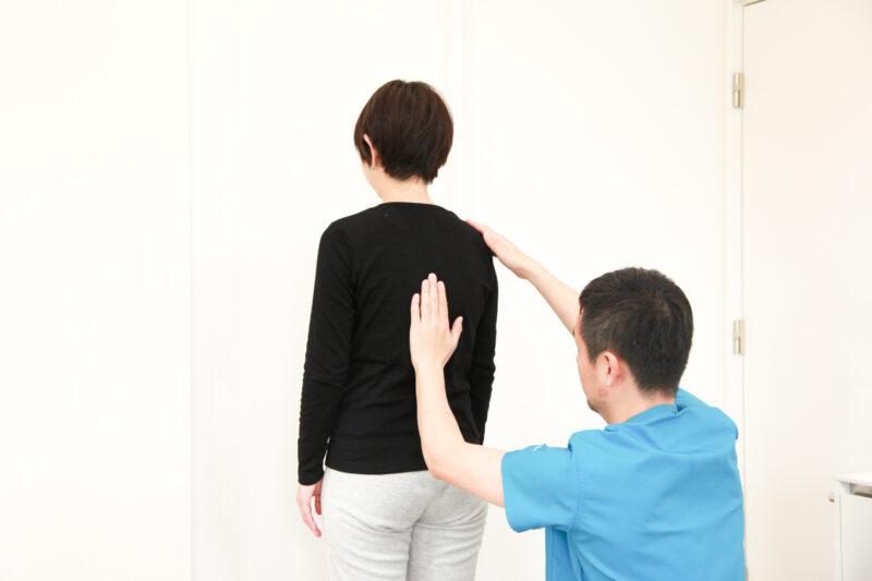 頭痛の姿勢検査